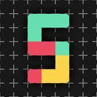 Carátula 5+ (fiveplus) para iPhone