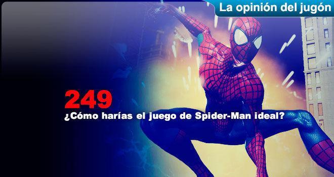�C�mo har�as el juego de Spider-Man ideal? para