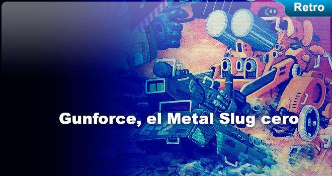 Gunforce, el Metal Slug cero para