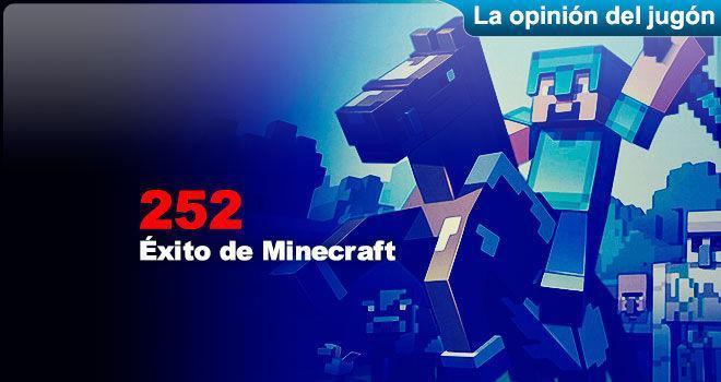�xito de Minecraft para