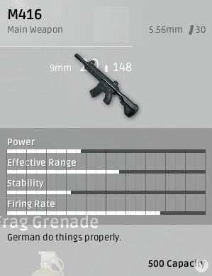 M416 Playerunknown's Battlegrounds