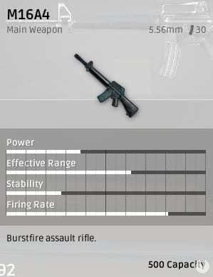 M16A4 Playerunknown's Battlegrounds