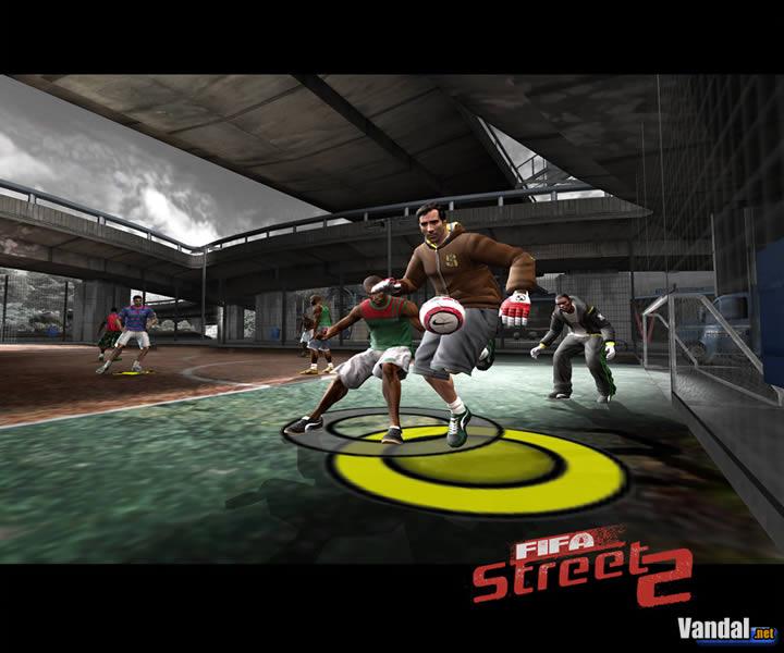 Imagen 5 de FIFA Street 2 para GameCube