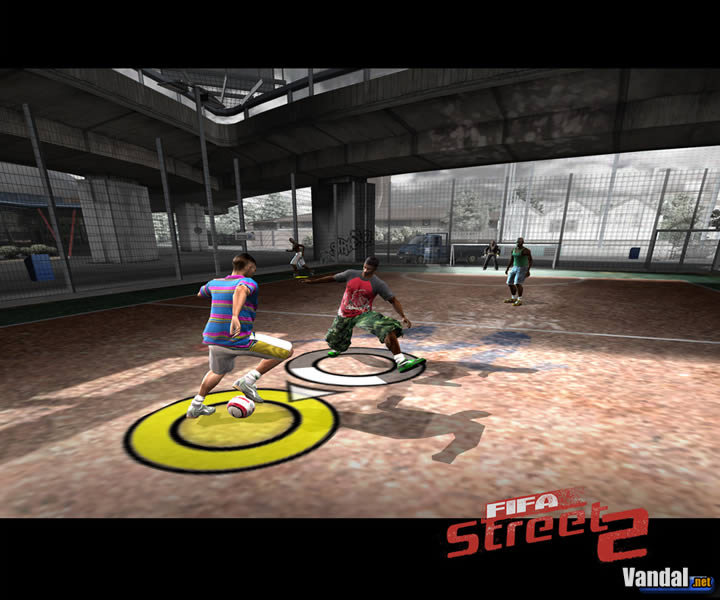 Imagen 4 de FIFA Street 2 para GameCube