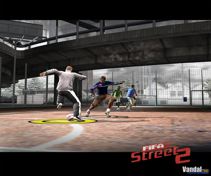 Imagen 3 de FIFA Street 2 para GameCube