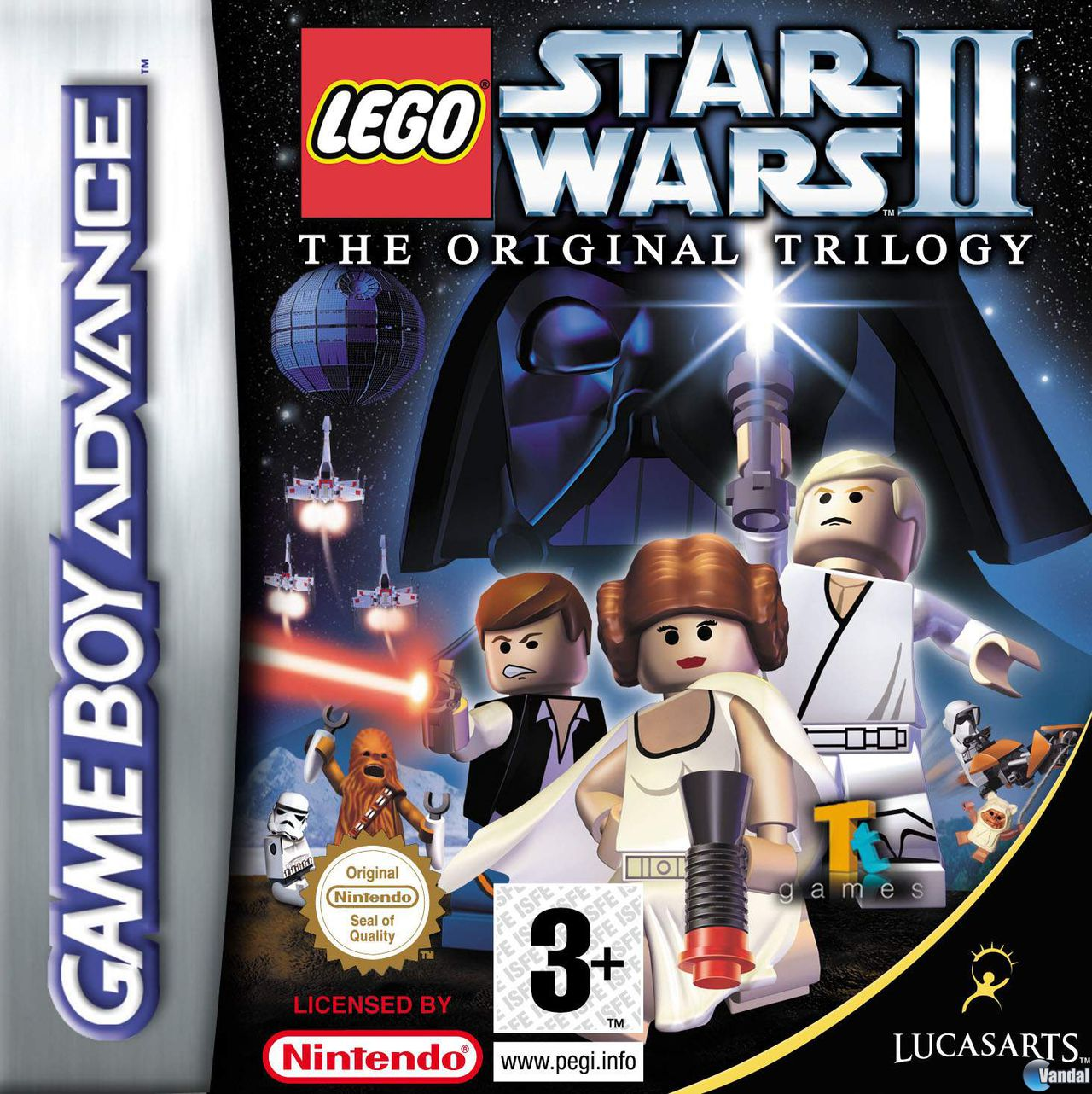 de LEGO Star Wars 2: The Original Trilogy para Game Boy Advance