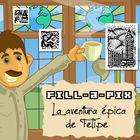 Carátula Phil's Epic Fill-a-Pix Adventure para Nintendo 3DS