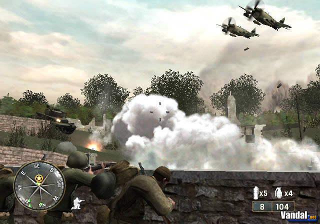 Imagen 5 de Call of Duty 3 para Wii