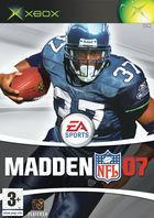 Carátula Madden NFL 07 para Xbox