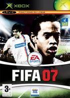 Carátula FIFA 07 para Xbox