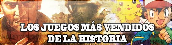 Los juegos mas vendidos de la historia