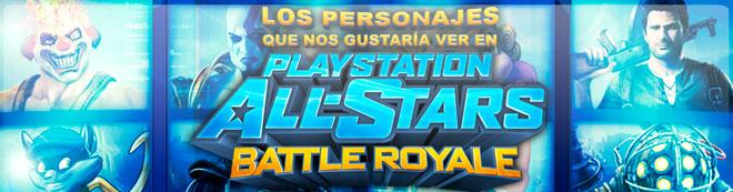 Los personajes que nos gustar�a ver en PlayStation All-Stars Battle Royale