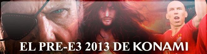 El Pre-E3 2013 de Konami