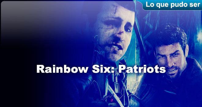 Rainbow Six: Patriots para