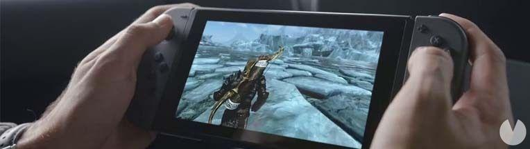 Skyrim Nintendo Switch E3 2017