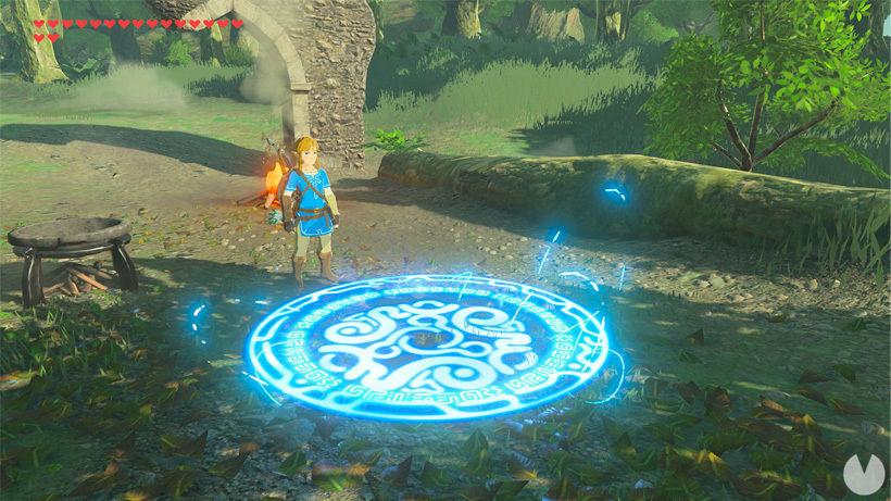 Teletransportador Zelda Breath of the Wild