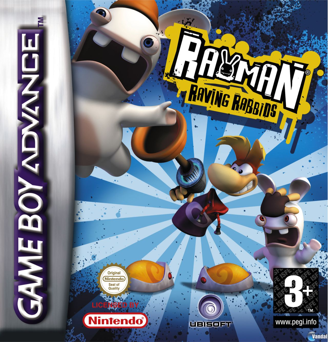 Imagen 6 de Rayman Raving Rabbids para Game Boy Advance