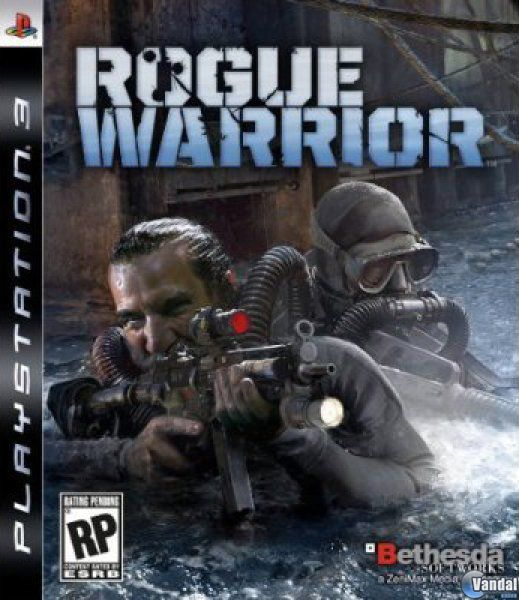 Cartula Rogue Warrior PlayStation 3