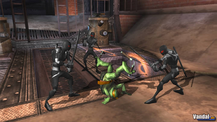 Anlisis Tortugas Ninja  Wii
