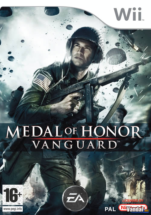 Car�tula Medal of Honor Vanguard Wii
