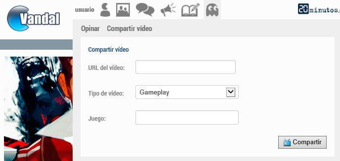 Compartir vídeo