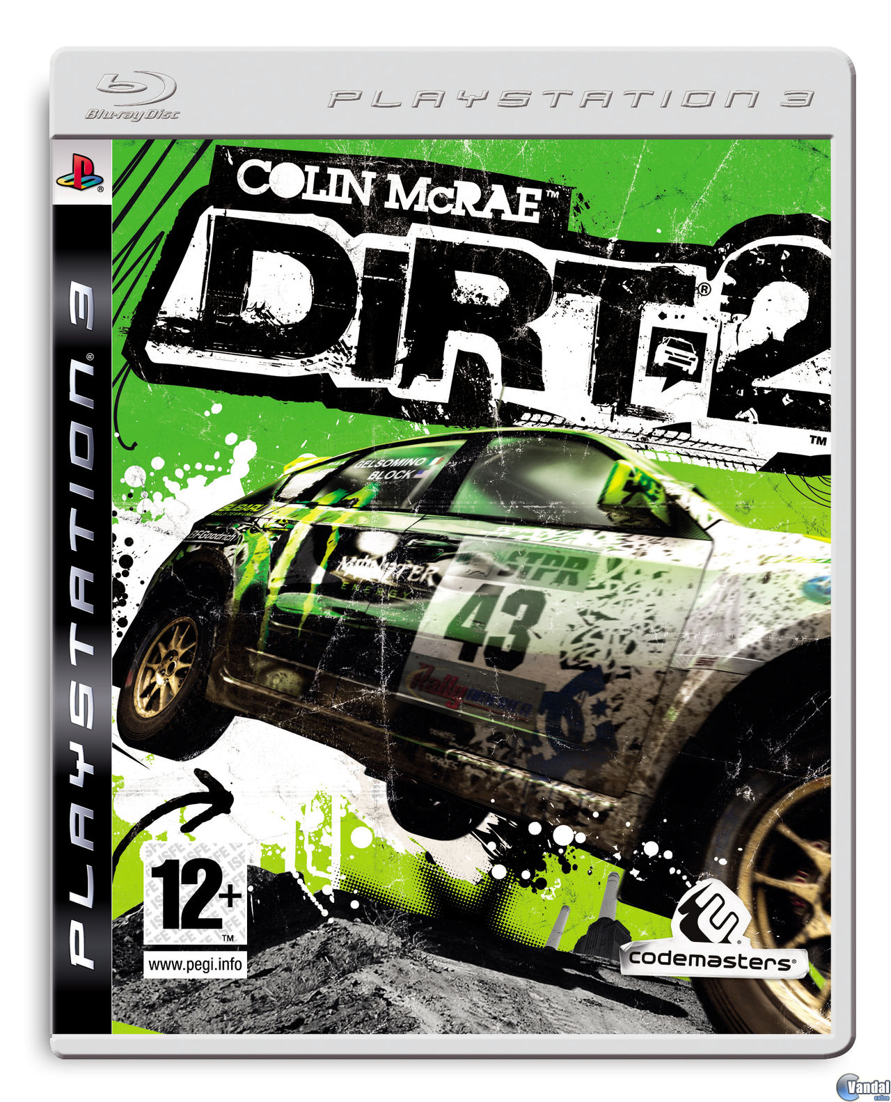 Car�tula Colin McRae: DIRT 2 PlayStation 3