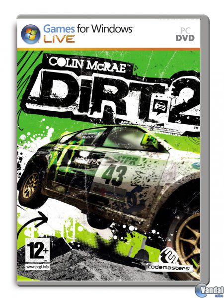 Car�tula Colin McRae: DIRT 2 Ordenador