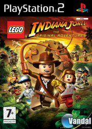 Cartula LEGO Indiana Jones PlayStation 2