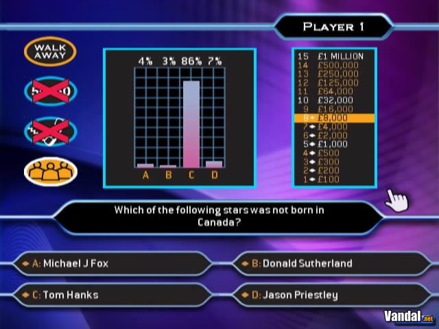 Imagen 2 de �Qui�n quiere ser millonario? para Wii
