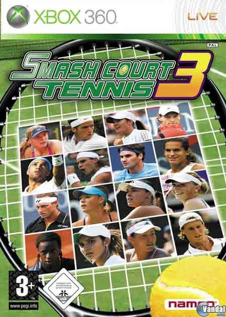 Car�tula Smash Court Tennis 3 Xbox 360