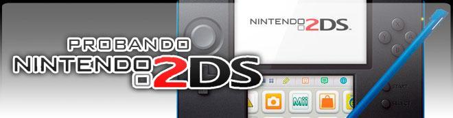 Probando Nintendo 2DS