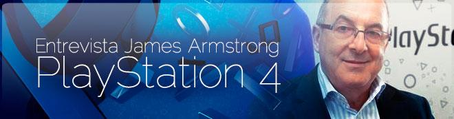 James Armstrong y PS4