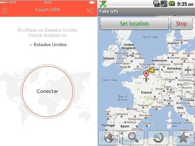 Aplicaciones para fake GPS en Pokémon GO