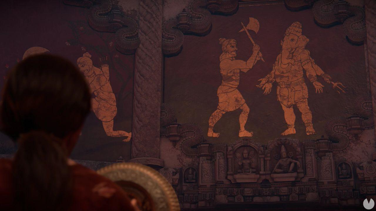 Uncharted El Legado Perdido Capítulo 7 Puzle de Ganesh