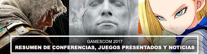Gamescom 2017: resumen de conferencias, juegos presentados y noticias