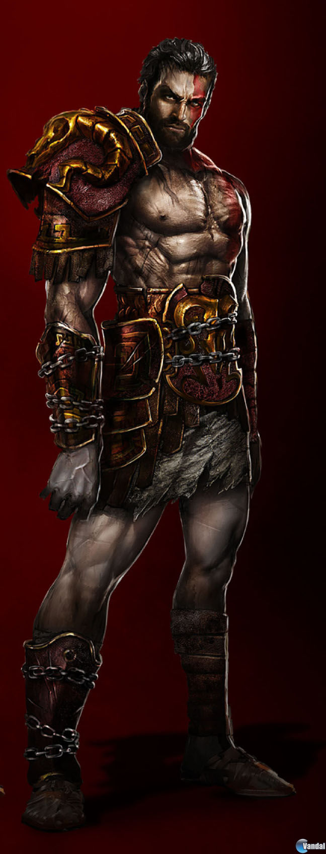 Deimos, el hermano de Kratos De God of War