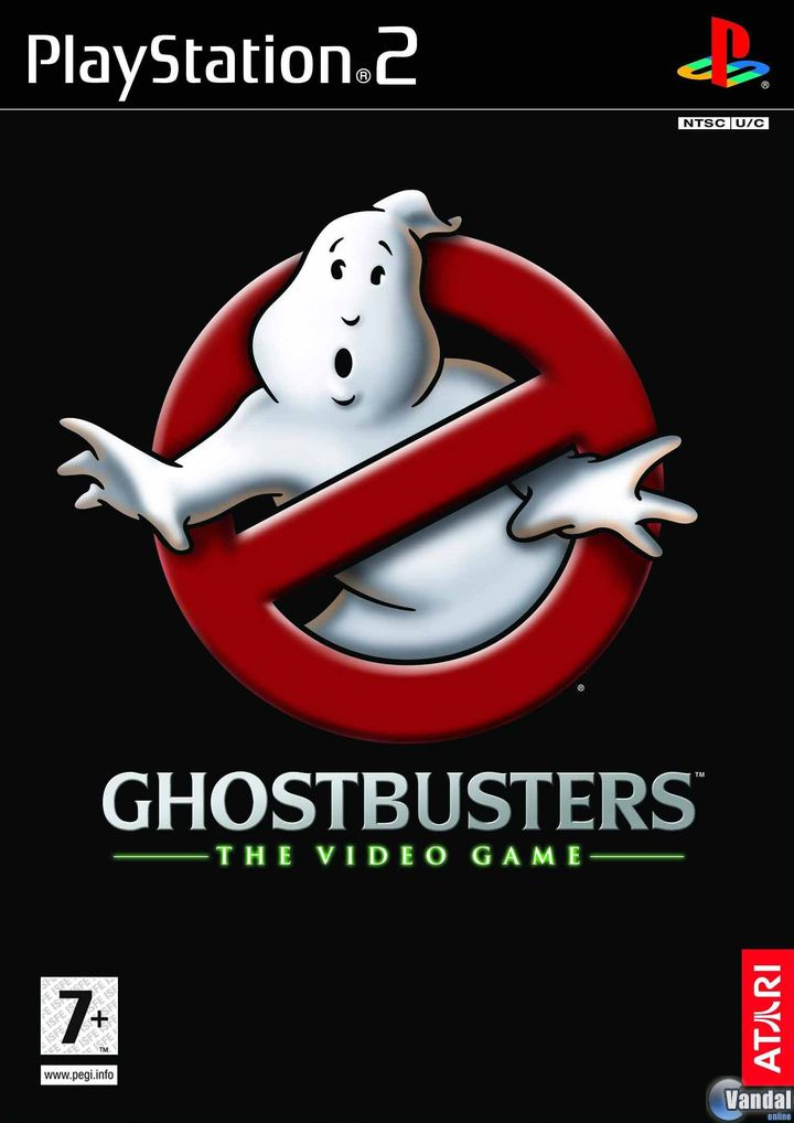 Cartula Ghostbusters: The Videogame PlayStation 2