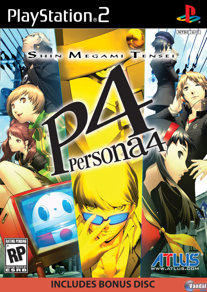 Car�tula Persona 4 PlayStation 2