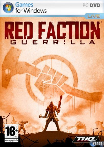Car�tula Red Faction: Guerrilla Ordenador