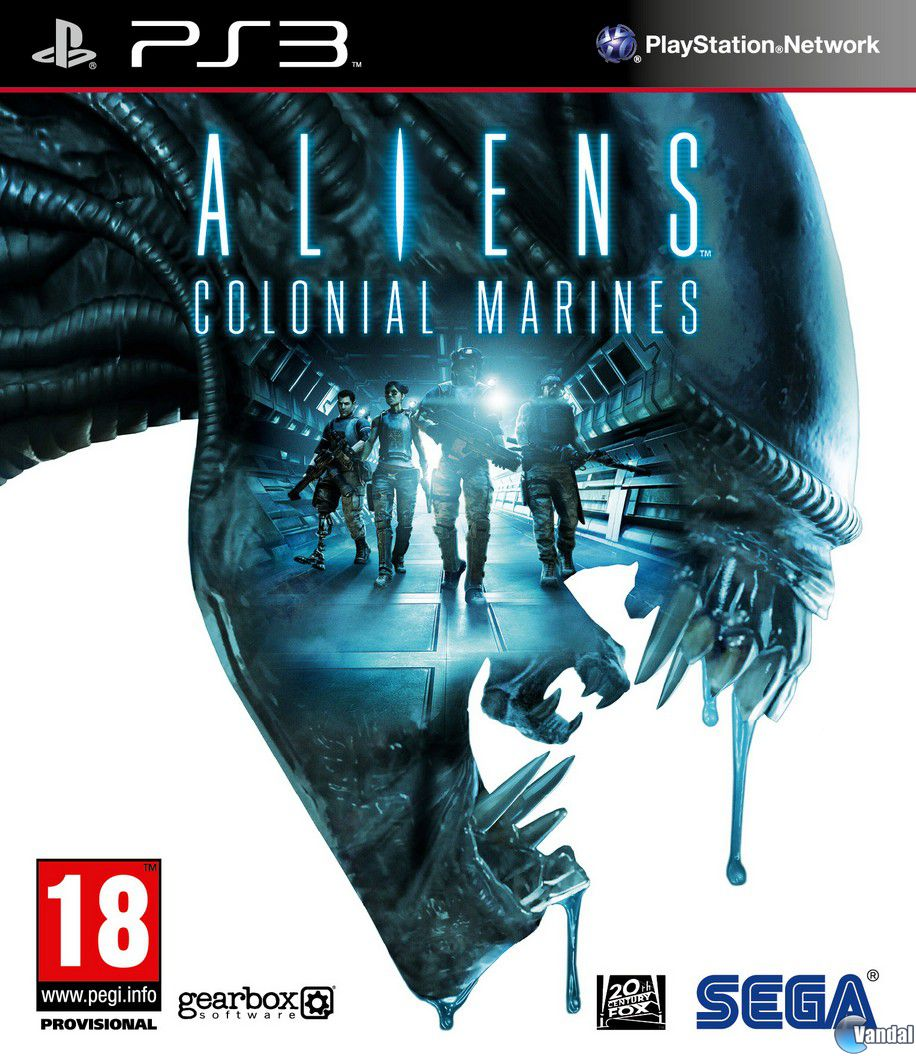 Car�tula Aliens: Colonial Marines PlayStation 3