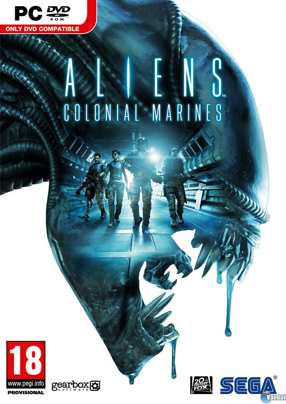Car�tula Aliens: Colonial Marines Ordenador