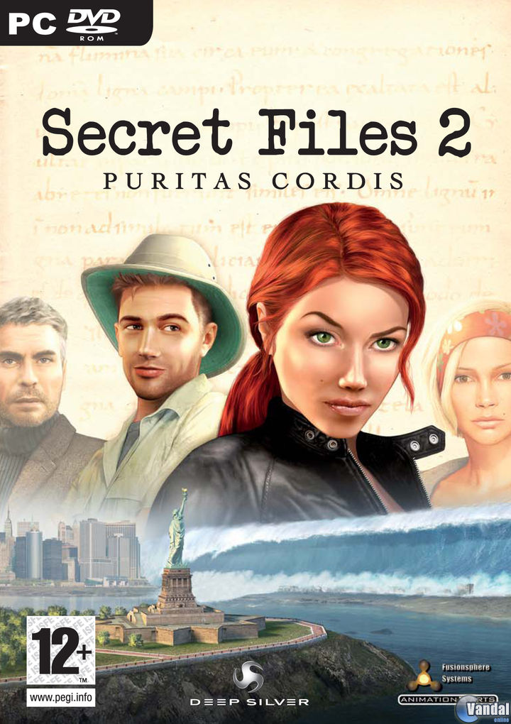 Car�tula Secret Files 2: Puritas Cordis Ordenador