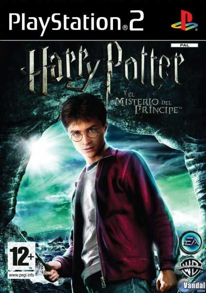 Car�tula Harry Potter and the Half-Blood Prince PlayStation 2