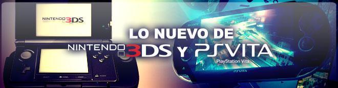 Lo nuevo de Nintendo 3DS y PS Vita