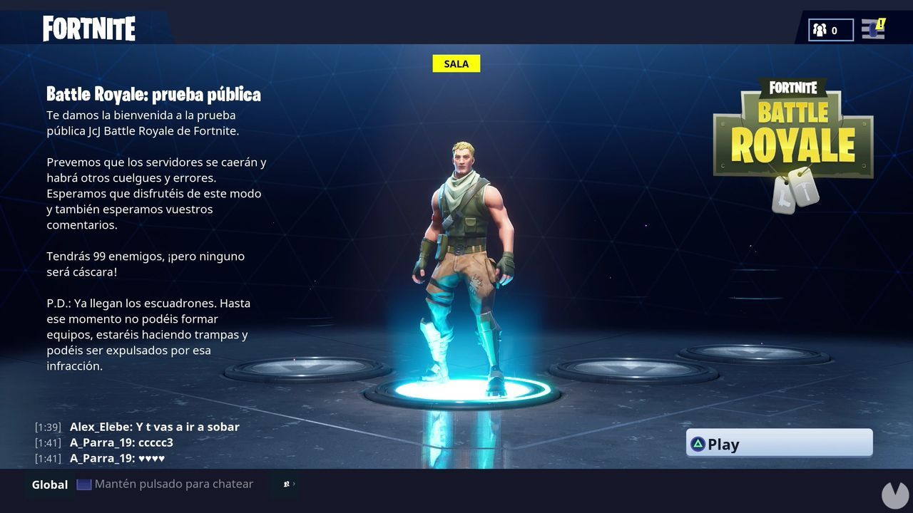 Fortnite Modo Battle Royale