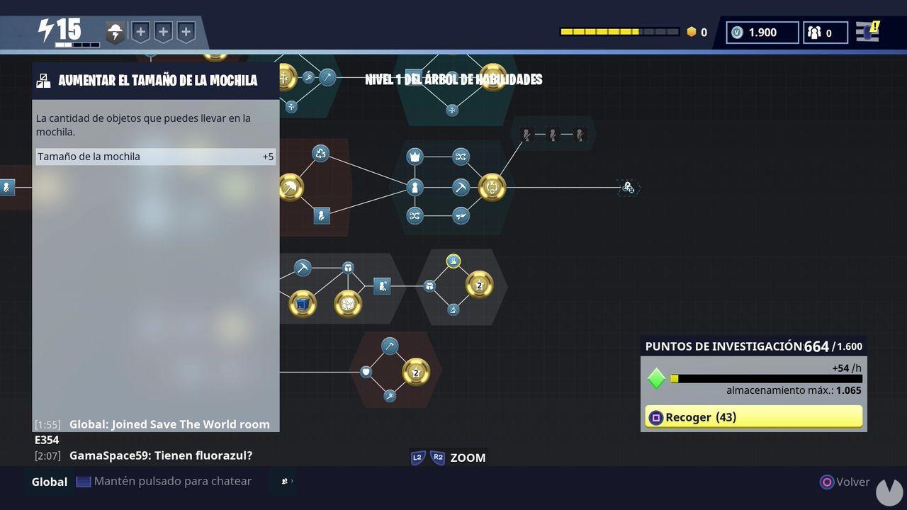 Fortnite Habilidades