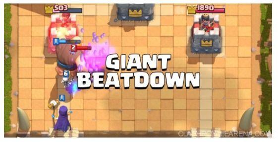 estategia gigante clash royale