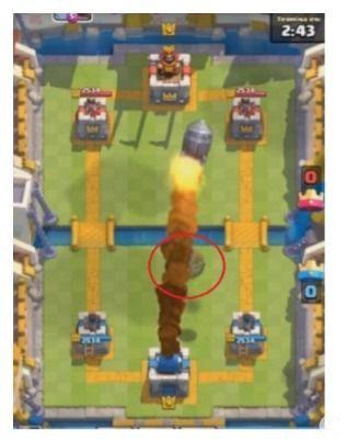 truco esconder el barril clash royale