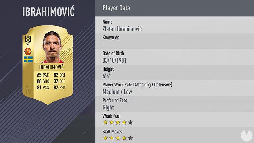 Ibrahimovic FIFA 18