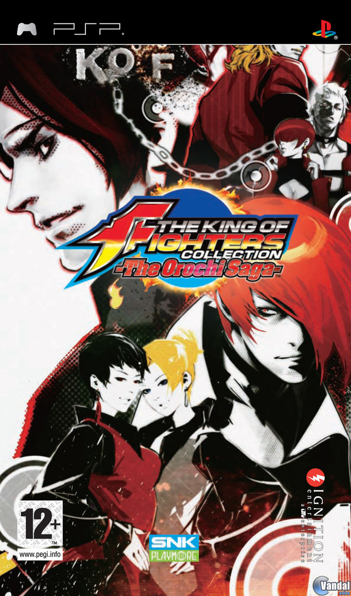 Car�tula King of Fighters Collection: The Orochi Saga PSP